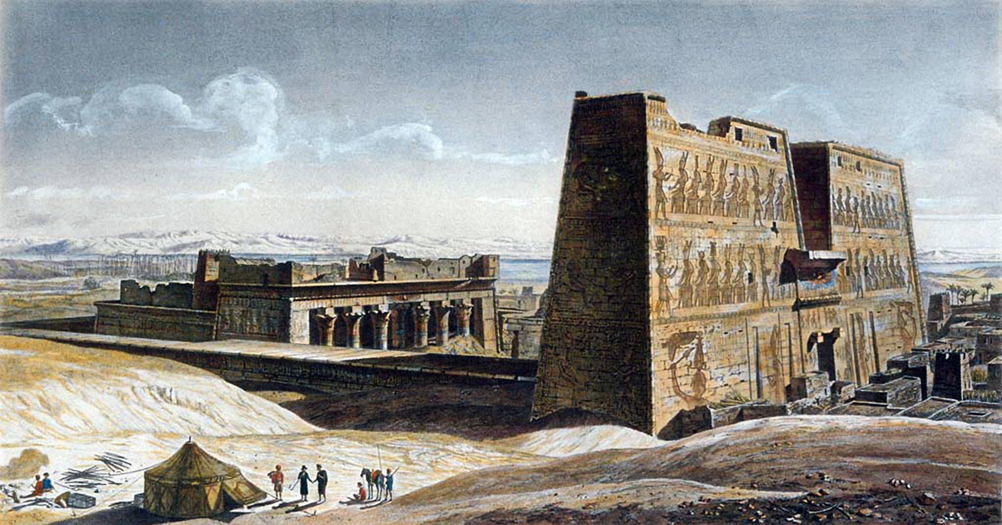 Вид на Большой Храм. Андре Дютертр