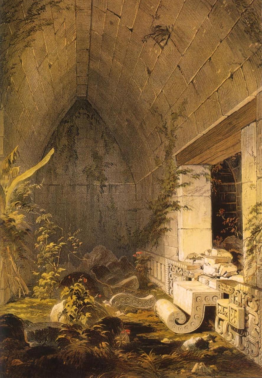 Кабах. Внутри главного здания. Фредерик Казервуд