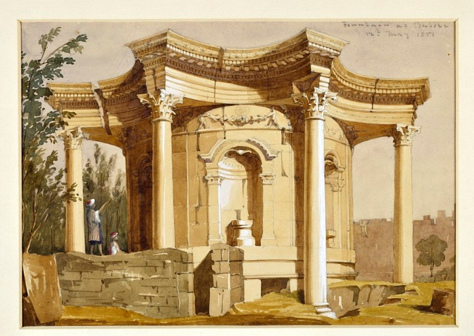Фонтан. Храм Венеры. Уильям Клерихью