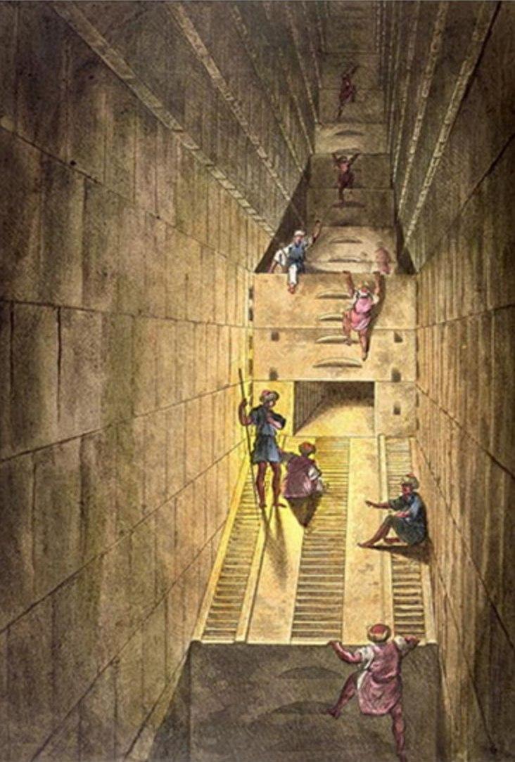 Исследование Великой пирамиды в Гизе. Занкон Гаэтано