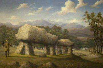 Двойной кромлех на Плас Ньюидд, Англси. Ричард Шпунт