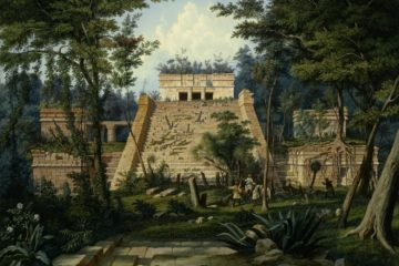 Храм в Тулуме. Хьюберт Саттлер