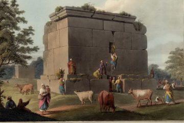 Монумент между Триполи и Тартусом. Луиджи Майер