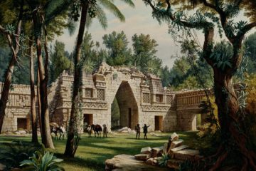 Руины в Лабне. Хьюберт Саттлер