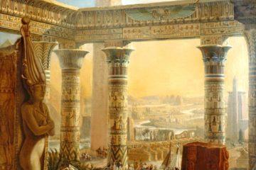Монументы Египта. Шарль Луи Флери Панкук