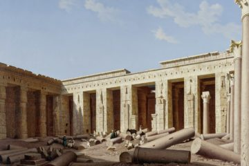 Храм Мединет Абу, Фивы. Хьюберт Саттлер