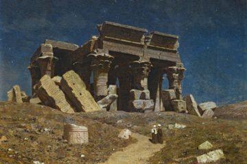 Разрушенный храм Ком Омбо. Шульце Иван Фёдорович