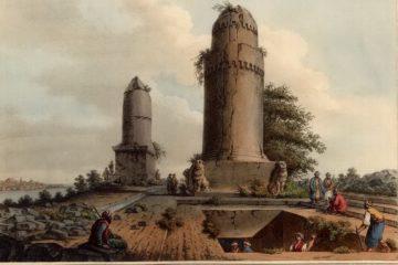 Погребальные монументы рядом с городом Тартус. Луиджи Майер