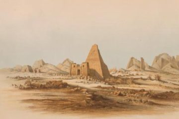 Пирамиды Мероэ. Эрнст Вейденбах
