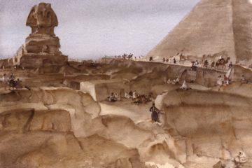 Сувенир из Египта. Сэр Уильям Рассел Флинт