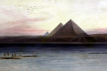 Пирамиды Гизы. Эдвард Лир