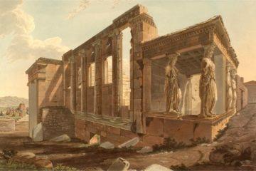 Эрехтейон в афинском Акрополе. Эдвард Додвелл