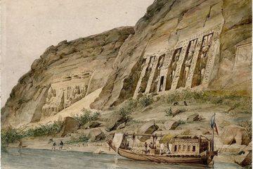 Абу - Симбел. Вид на оба храма. Гектор Горо