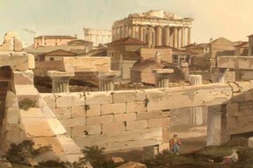 Парфенон в Афинах. Эдвард Додвелл