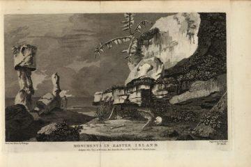 Памятники острова Пасхи. Уильям Ходжес