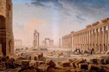Руины в Пальмире. Луи Франсуа Кассас