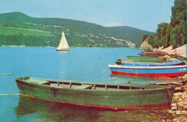 Lake Abrau-Durso, 1971
