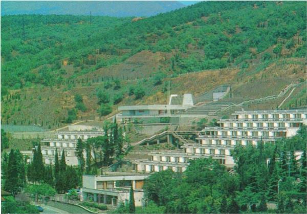 Crimea. Alushta. Summer camp Chaika, 1980