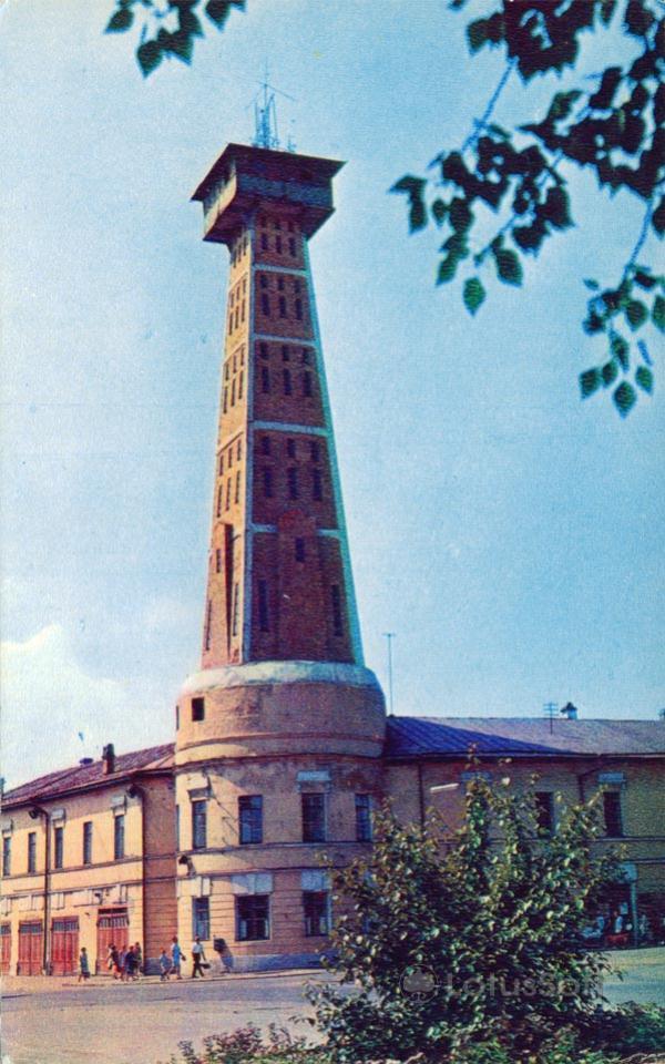 Рыбинск. Пожарная колонча, 1971 год