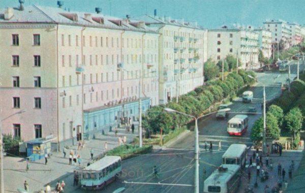 Чебоксары. Проспект В.И. Ленина, 1973 год