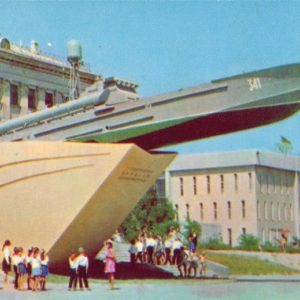 Monument of heroic sailors of the Black Sea, 1971