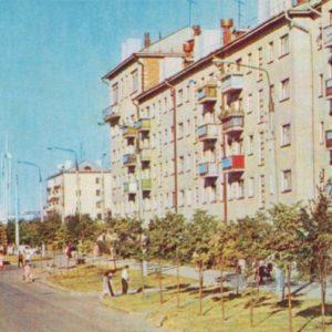 Cheboksary. Gagarin st, 1973