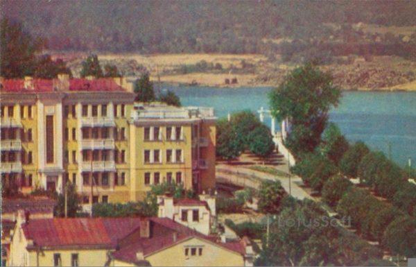 Чебоксары. Вид на Волгу, 1973 год