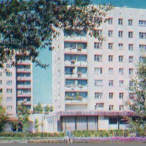 Чебоксары. Новые жилые дома, 1973 год