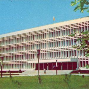 Здание горисполкома, 1971 год