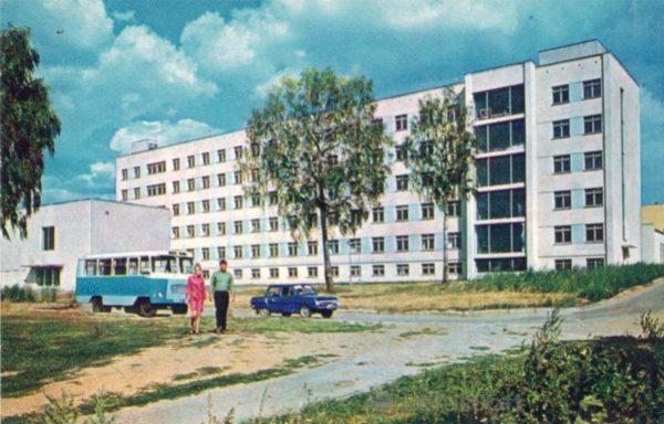 Чебоксары. Педагогический институт им. И.Я. Яковлева. Учебный корпус N2, 1973 год