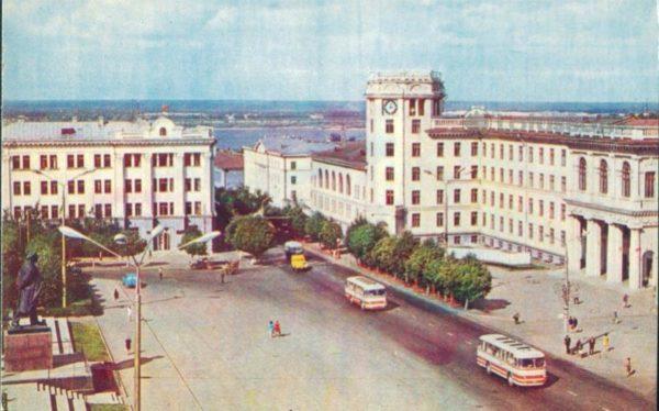 Чебоксары. Площадь Ленина, 1973 год