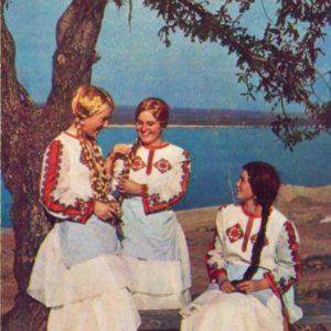 Cheboksary. Chuvash Girl, 1973