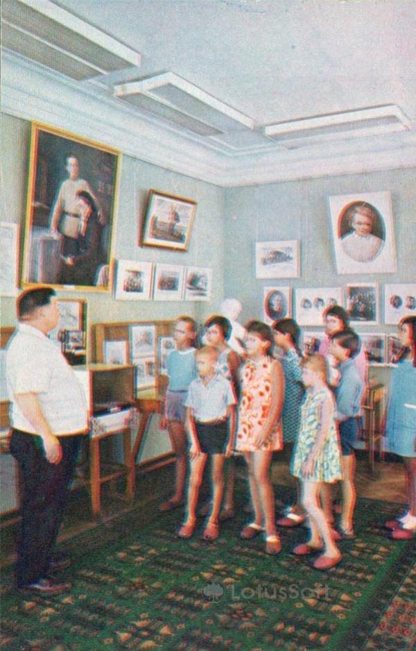 Чебоксары. В музее имени В.И. Ленина, 1973 год