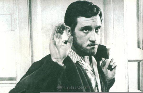 """Кадр из фильма """"Короткие встречи"""" 1967 г, 1989 год"""