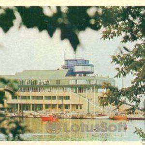 Таллин. Центр парусного сорта в Пирита, 1980 год