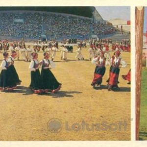 Таллин. Праздник на Печевском поле, 1980 год