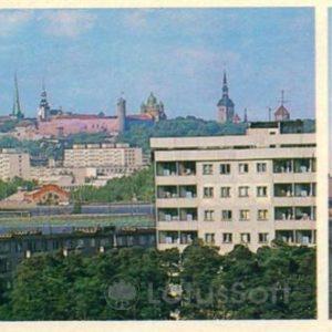 Таллин. Новостройки Таллина, 1980 год