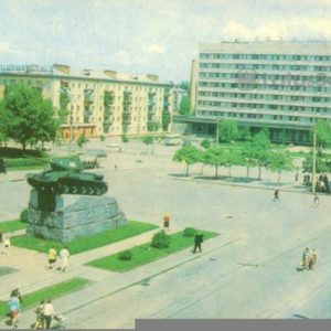 Житомир. Площадь победы, 1979 год