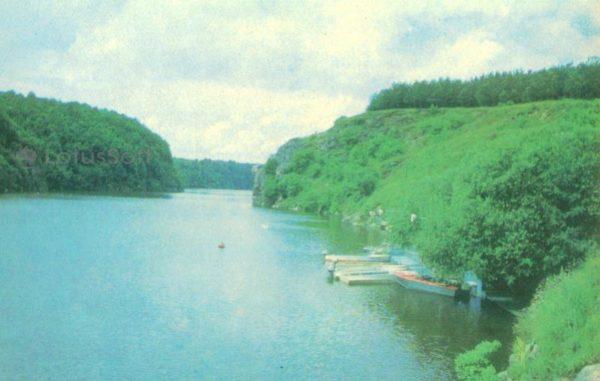 Житомир. На реке Тетерев, 1979 год