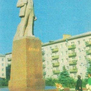 Житомир. Памятник В.И. Ленину, 1979 год