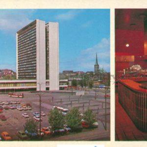 """Таллин. Гостиница """"Виру"""", 1980 год"""