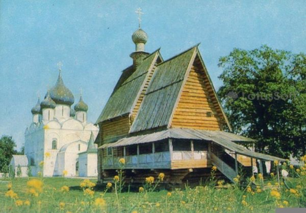 Суздаль. Никольская церковь из с. Глотова. 1766 г, 1981 год
