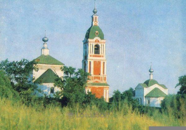 Суздаль. Знаменские церкви – летняя и зимняя. 1749 и 1777, 1981 год