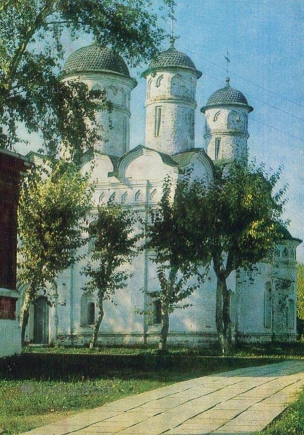 Суздаль. Ризположенский собор. XVI в, 1981 год
