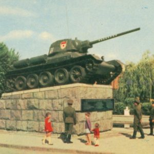 Khmelnitsky. Monument in honor of Soviet soldiers, 1967