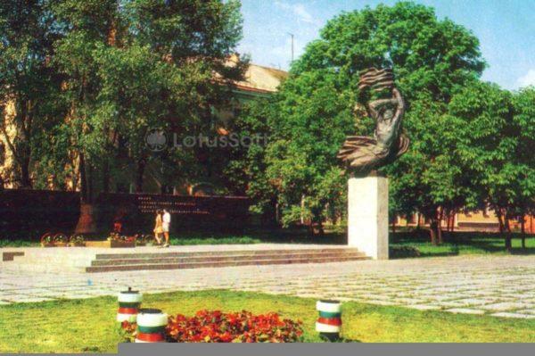 Хмельницкий. Мемориал в честь советских воинов, 1976 год