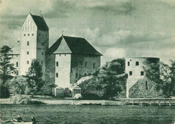 Островной замок, XIV-XV вв.), 1962 год