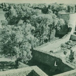 View from the keep, 1962