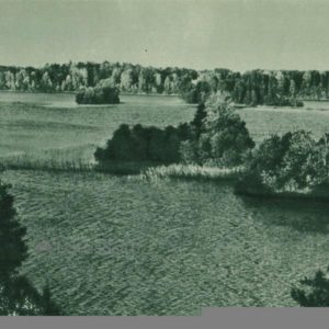 Islands, islets of Lake Galve, 1962