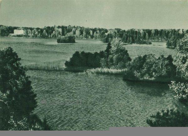 Острова, островки озера Гальве, 1962 год